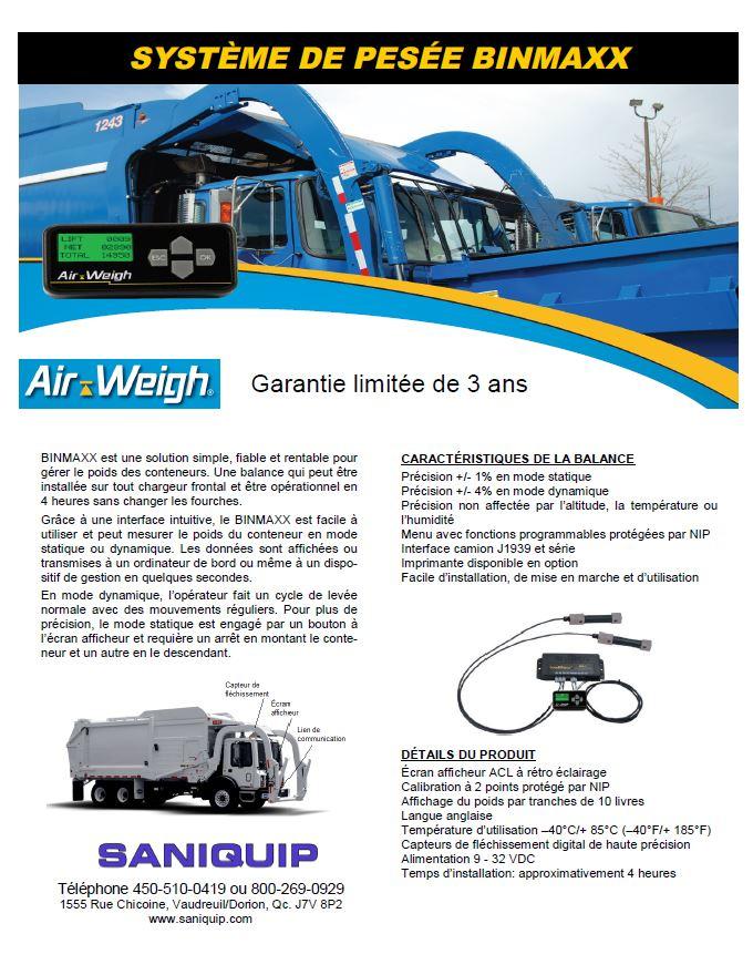 Brochure balance BinMaxx Télécharger (pdf)