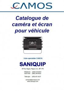 Couverture catalogue cameras CAMOS nov 2015