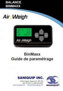Guide paramétrage balance BinMaxx Télécharger (pdf)